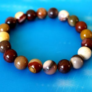 Shop Mookaite Bracelets! 10mm Mookaite Jasper Bracelet, Mookaite Bracelet, Mookaite Jasper Wrist Mala, Jasper Bracelet, Chakra Bracelet, Mookaite Bracelet, Jasper | Natural genuine Mookaite bracelets. Buy crystal jewelry, handmade handcrafted artisan jewelry for women.  Unique handmade gift ideas. #jewelry #beadedbracelets #beadedjewelry #gift #shopping #handmadejewelry #fashion #style #product #bracelets #affiliate #ad