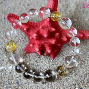Shop Quartz Crystal Bracelets! Rock Crystal Bracelet, Crystal Quartz Bracelet, Universal Crystal Bracelet, Clear Quartz Bracelet, Bridal Wedding Bracelet, Gemstone Mala | Natural genuine Quartz bracelets. Buy handcrafted artisan wedding jewelry.  Unique handmade bridal jewelry gift ideas. #jewelry #beadedbracelets #gift #crystaljewelry #shopping #handmadejewelry #wedding #bridal #bracelets #affiliate #ad
