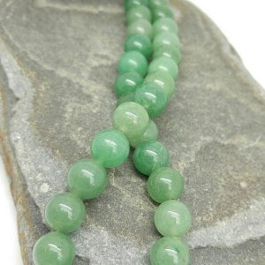 Shop Aventurine Beads! Green Aventurine Beads 10mm  / Natural Green Aventurine  Round Beads / Green Gemstone Round Beads / Mala Beads / Jewellery beads 4 beads | Natural genuine beads Aventurine beads for beading and jewelry making.  #jewelry #beads #beadedjewelry #diyjewelry #jewelrymaking #beadstore #beading #affiliate #ad