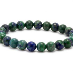 Shop Azurite Jewelry! Azure Jewelry, Azurite Crystal, Malachite Bracelet, Malachite Crystal, Azure, Blue Bracelets Women, Boho Blue Bracelet, Azurite Cuff | Natural genuine Azurite jewelry. Buy crystal jewelry, handmade handcrafted artisan jewelry for women.  Unique handmade gift ideas. #jewelry #beadedjewelry #beadedjewelry #gift #shopping #handmadejewelry #fashion #style #product #jewelry #affiliate #ad