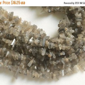 On Sale 55% Grey Moonstone Chips, Grey Moonstone Beads, Natural Moonstone Chips, Grey Moonstone Necklace, 4-7mm, 32 Inch – Rama46