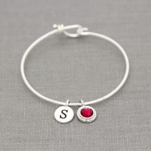 Shop Ruby Bracelets! Personalized Mothers Bracelet with Initials, Mothers Day Gift for Grandma, Grandmother Birthstone Bracelet, July Birthstone Ruby Jewelry | Natural genuine gemstone jewelry in modern, chic, boho, elegant styles. Buy crystal handmade handcrafted artisan art jewelry & accessories. #jewelry #beaded #beadedjewelry #product #gifts #shopping #style #fashion #product