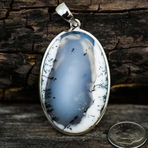 Shop Dendrite Agate Jewelry! Dendritic Agate Pendant – Merlinite Pendant – Moss Agate Pendant – Black And White Agate Pendant – Agate Pendant- Moss Agate – Dendrite | Natural genuine Agate jewelry. Buy crystal jewelry, handmade handcrafted artisan jewelry for women.  Unique handmade gift ideas. #jewelry #beadedjewelry #beadedjewelry #gift #shopping #handmadejewelry #fashion #style #product #jewelry #affiliate #ad