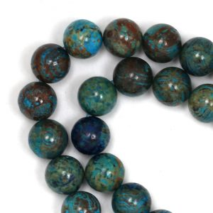 Blue Sky Jasper (more Blue) Beads – 8mm Round