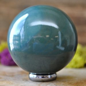 Shop Jasper Shapes! Fancy Jasper Crystal Sphere –  904.03 | Natural genuine stones & crystals in various shapes & sizes. Buy raw cut, tumbled, or polished gemstones for making jewelry or crystal healing energy vibration raising reiki stones. #crystals #gemstones #crystalhealing #crystalsandgemstones #energyhealing #affiliate #ad