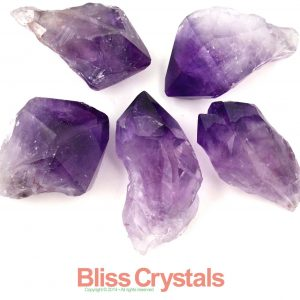 1 Super Gem Xl Amethyst Rough Point From Brazil Jewelry & Crafts Healing Crystal And Stone #f2