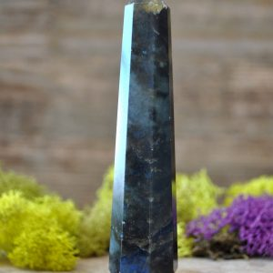 Labradorite Crystal Multi Faceted Healing Wand  – 996.07