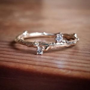 Shop Diamond Rings! 14K Gold Wedding Band for Women, Wedding Band Women, Womens Wedding Band, Diamond Wedding Band For Women, Bands For Women, White Gold Ring | Natural genuine Diamond rings, simple unique alternative gemstone engagement rings. #rings #jewelry #bridal #wedding #jewelryaccessories #engagementrings #weddingideas #affiliate #ad