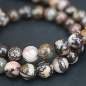 6mm/8mm Outback Jasper Beads,smooth And Round Stone Beads,15 Inches One Starand