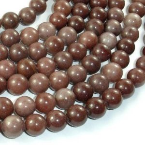 Purple Aventurine Beads, 10mm(10.4mm) Round Beads, 15.5 Inch, Full strand, Approx 38 beads, Hole 1mm (360054005)