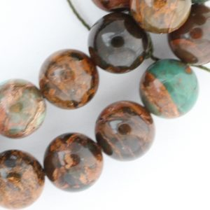 Green Opal Beads – 10mm Round