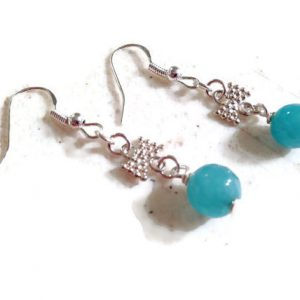 Shop Jade Earrings! Blue Earrings – Silver Jewelry – Jade Gemstone Jewellery – Fashion – Bow – Dainty | Natural genuine Jade earrings. Buy crystal jewelry, handmade handcrafted artisan jewelry for women.  Unique handmade gift ideas. #jewelry #beadedearrings #beadedjewelry #gift #shopping #handmadejewelry #fashion #style #product #earrings #affiliate #ad