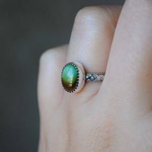 Royston Turquoise Ring (size 5.5-5.75), Sterling Silver Turquoise Jewelry