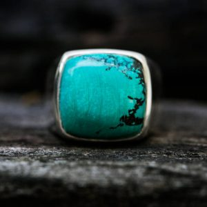 Turquoise Ring 13 – Turquoise Mens Ring Size 13 – Mens Turquoise Ring – Mens Ring – Turquoise Jewelry – Sterling Silver Turquoise Size 13