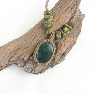 Shop Aventurine Necklaces! Green Aventurine Necklace, Macrame Necklace, Green Aventurine Jewelry, Men's Pendant Necklace, Adjustable, Waterproof, Earth, Awareness | Natural genuine Aventurine necklaces. Buy crystal jewelry, handmade handcrafted artisan jewelry for women.  Unique handmade gift ideas. #jewelry #beadednecklaces #beadedjewelry #gift #shopping #handmadejewelry #fashion #style #product #necklaces #affiliate #ad