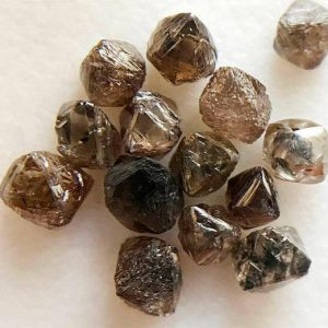 Shop Raw & Rough Diamond Stones! 3-4mm Brown Raw Diamond Crystal, Natural Rough Diamond, Uncut Diamond, Loose Diamond Crystal, Diamond Octahedron For Jewelry (1Pc To 5Pc) | Natural genuine stones & crystals in various shapes & sizes. Buy raw cut, tumbled, or polished gemstones for making jewelry or crystal healing energy vibration raising reiki stones. #crystals #gemstones #crystalhealing #crystalsandgemstones #energyhealing #affiliate #ad