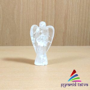 Offer!! Buy One Get One Free!!  Clear Quartz Angel Size – 2inch Natural Gemstone Chakra Healing Aura Cleansing Crystal