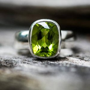 Shop Peridot Rings! Peridot Ring Size 5, 6, 7, 8 9 Peridot ring 5-9.5 Peridot Ring – August Birthstone August Birthstone Peridot jewelry Size 5, 6, 7, 8, 9 Ring | Natural genuine Peridot rings, simple unique handcrafted gemstone rings. #rings #jewelry #shopping #gift #handmade #fashion #style #affiliate #ad