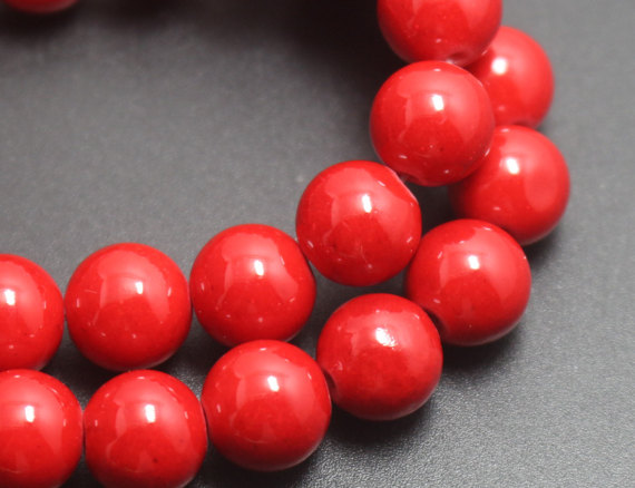 Red Mountain Jade Beads,4mm/6mm/8mm/10mm/12mm Candy Jade Beads,smooth And Round  Beads,16 Inches One Starand