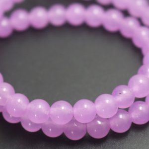 Purple Jade Beads,6mm/8mm/10mm/12mm Dyed Candy Jade Beads,Smooth and Round  Beads,15 inches one starand | Natural genuine beads Gemstone beads for beading and jewelry making.  #jewelry #beads #beadedjewelry #diyjewelry #jewelrymaking #beadstore #beading #affiliate #ad