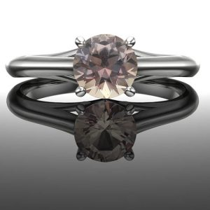 Shop Unique Sapphire Engagement Rings! Color Change Sapphire Engagement Ring Solitaire; Genuine Round Sapphire, Solid 14k Rose, White, or Yellow Real Gold, Precision Cut | Natural genuine Sapphire rings, simple unique alternative gemstone engagement rings. #rings #jewelry #bridal #wedding #jewelryaccessories #engagementrings #weddingideas #affiliate #ad