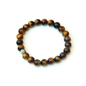Tigers Eye Bracelet – For Manifestation | Natural genuine Gemstone bracelets. Buy crystal jewelry, handmade handcrafted artisan jewelry for women.  Unique handmade gift ideas. #jewelry #beadedbracelets #beadedjewelry #gift #shopping #handmadejewelry #fashion #style #product #bracelets #affiliate #ad
