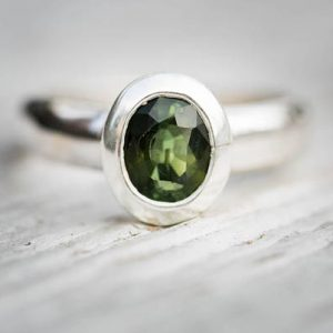 Green Tourmaline Ring 7.5 –  Green Tourmaline – Tourmaline Ring Size 7.5 – Green Tourmaline – Engagement Ring Alternative – Green Tourmaline | Natural genuine Gemstone rings, simple unique alternative gemstone engagement rings. #rings #jewelry #bridal #wedding #jewelryaccessories #engagementrings #weddingideas #affiliate #ad