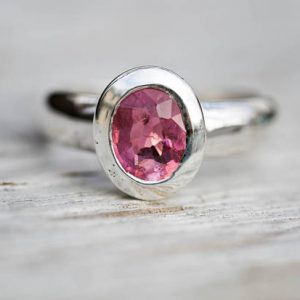 Shop Tourmaline Rings! Pink Tourmaline Ring 6.5 – Pink Tourmaline – Tourmaline Ring Size 6.5 – Pink Tourmaline – Engagement Ring Alternative Pink Tourmaline Ring | Natural genuine Tourmaline rings, simple unique alternative gemstone engagement rings. #rings #jewelry #bridal #wedding #jewelryaccessories #engagementrings #weddingideas #affiliate #ad