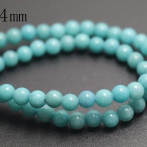 Shop Jade Beads! 4mm Blue Mountain Jade Beads,Candy Jade Beads,Smooth and Round  Beads,15 inches one starand | Natural genuine beads Jade beads for beading and jewelry making.  #jewelry #beads #beadedjewelry #diyjewelry #jewelrymaking #beadstore #beading #affiliate #ad