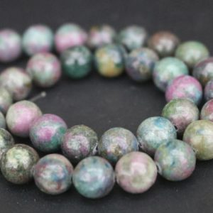 6mm/8mm/10mm/12mm Ruby Apatrite Beads,smooth And Round Stone Beads,15 Inches One Starand