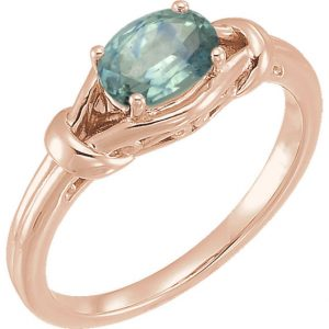 Shop Unique Sapphire Engagement Rings! Montana Sapphire Engagement Ring, Genuine Oval Sapphire, Solid 14k Rose, White, or Yellow Real Gold Knot Band – American Gemstone | Natural genuine Sapphire rings, simple unique alternative gemstone engagement rings. #rings #jewelry #bridal #wedding #jewelryaccessories #engagementrings #weddingideas #affiliate #ad