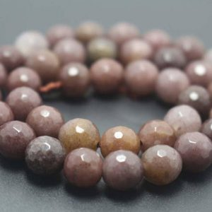 128 Faceted Purple Aventurine Round Beads,6mm/8mm/10mm/12mm Gemstone Beads Supply,15 Inches One Starand