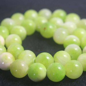 Shop Jade Beads! Smooth and Round Jade Beads,6mm/8mm/10mm/12mm Dyed Candy Jade Beads,15 inches one starand | Natural genuine beads Jade beads for beading and jewelry making.  #jewelry #beads #beadedjewelry #diyjewelry #jewelrymaking #beadstore #beading #affiliate #ad
