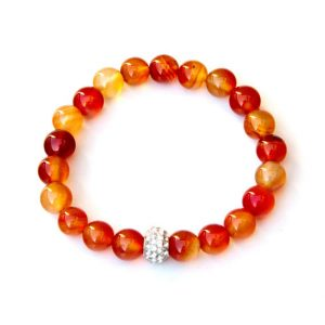 Shop Carnelian Bracelets! Carnelian bracelet – sacral chakra | Natural genuine Carnelian bracelets. Buy crystal jewelry, handmade handcrafted artisan jewelry for women.  Unique handmade gift ideas. #jewelry #beadedbracelets #beadedjewelry #gift #shopping #handmadejewelry #fashion #style #product #bracelets #affiliate #ad