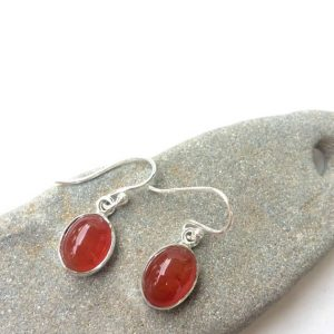 Shop Carnelian Earrings! Carnelian Earrings, Carnelian Silver Earrings, Dangle Earrings, Small Earrings, Shine, Orange Stone, Carnelian, Tiny Earrings, Gift, For Her | Natural genuine Carnelian earrings. Buy crystal jewelry, handmade handcrafted artisan jewelry for women.  Unique handmade gift ideas. #jewelry #beadedearrings #beadedjewelry #gift #shopping #handmadejewelry #fashion #style #product #earrings #affiliate #ad
