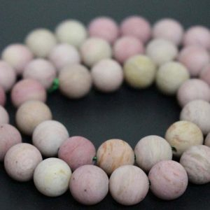 Shop Rhodonite Round Beads! Matte Pink Rhodonite Smooth and Round Beads Supply,6mm/8mm/10mm/12mm Gemstone Wholesale Beads Supply,15 inches one starand | Natural genuine round Rhodonite beads for beading and jewelry making.  #jewelry #beads #beadedjewelry #diyjewelry #jewelrymaking #beadstore #beading #affiliate