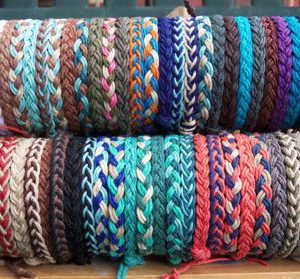 Braided Hemp Anklet Bracelet custom designed colors by you Hippie Surfer boho braided beach layering stacking jewelry men women kids all age | Shop jewelry making and beading supplies, tools & findings for DIY jewelry making and crafts. #jewelrymaking #diyjewelry #jewelrycrafts #jewelrysupplies #beading #affiliate #ad