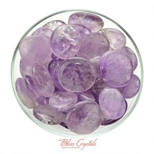 Shop Palm Stones! 1 Gem AMETHYST Lilac Palm Stone for Peace Calm Meditation Protection Healing Crystal and Stone #AP36 | Natural genuine stones & crystals in various shapes & sizes. Buy raw cut, tumbled, or polished gemstones for making jewelry or crystal healing energy vibration raising reiki stones. #crystals #gemstones #crystalhealing #crystalsandgemstones #energyhealing #affiliate #ad