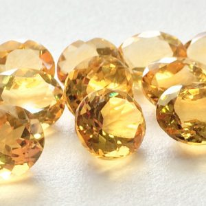 Shop Citrine Faceted Beads! Citrine Cut Stone Lot – Oval Faceted Calibrated Citrine – 9x11mm Each  – 6 Pieces, 20 Carats, Beautiful Orange Citrine Cabochon Lot | Natural genuine faceted Citrine beads for beading and jewelry making.  #jewelry #beads #beadedjewelry #diyjewelry #jewelrymaking #beadstore #beading #affiliate #ad