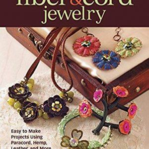 Fiber & Cord Jewelry: Easy to Make Projects Using Paracord, Hemp, Leather, and More | Shop jewelry making and beading supplies, tools & findings for DIY jewelry making and crafts. #jewelrymaking #diyjewelry #jewelrycrafts #jewelrysupplies #beading #affiliate #ad