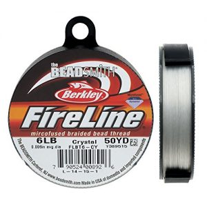 Shop Beading Thread! Fireline XCR-1278 Crystal Braided Beading Thread, .006″/50 yd | Shop jewelry making and beading supplies, tools & findings for DIY jewelry making and crafts. #jewelrymaking #diyjewelry #jewelrycrafts #jewelrysupplies #beading #affiliate #ad