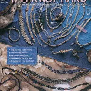 Hemp Jewelry It's Knot Hard: 28 Terrific Jewelry Designs to Knot, Bead & Wear | Shop jewelry making and beading supplies, tools & findings for DIY jewelry making and crafts. #jewelrymaking #diyjewelry #jewelrycrafts #jewelrysupplies #beading #affiliate #ad