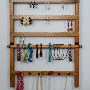 Shop Storage for Beading Supplies! Jewelry Holder Wall, Earring Display, Jewelry Display, Jewelry Stand, Jewelry Rack, Jewelry Hanger, Bracelet Display, Earring Holder | Shop jewelry making and beading supplies, tools & findings for DIY jewelry making and crafts. #jewelrymaking #diyjewelry #jewelrycrafts #jewelrysupplies #beading #affiliate #ad
