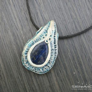 Shop Lapis Lazuli Necklaces! Lapis Lazuli pendant, tear drop amulet, men's necklace, protection stones, December birthstone, Throat Chakra, men jewelry, gift for him | Natural genuine Lapis Lazuli necklaces. Buy crystal jewelry, handmade handcrafted artisan jewelry for women.  Unique handmade gift ideas. #jewelry #beadednecklaces #beadedjewelry #gift #shopping #handmadejewelry #fashion #style #product #necklaces #affiliate #ad