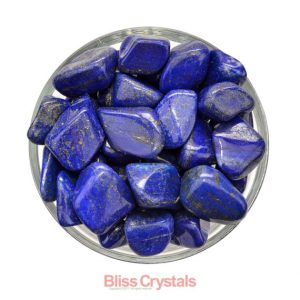 Shop Tumbled Lapis Lazuli Crystals & Pocket Stones! 1 LAPIS LAZULI Tumbled Stone Grade A Premium Gem w Pyrite Healing Crystal and Stone (You Select Size) #LT33 | Natural genuine stones & crystals in various shapes & sizes. Buy raw cut, tumbled, or polished gemstones for making jewelry or crystal healing energy vibration raising reiki stones. #crystals #gemstones #crystalhealing #crystalsandgemstones #energyhealing #affiliate #ad