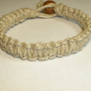 Shop Hemp Jewelry Making Supplies! Mens Hemp Bracelet Natural Hemp Bracelet For Guys Chunky Man Bracelet Macrame Beach Surfer Hippie Simple Phat Hemp for Him Hemp Jewelry | Shop jewelry making and beading supplies, tools & findings for DIY jewelry making and crafts. #jewelrymaking #diyjewelry #jewelrycrafts #jewelrysupplies #beading #affiliate #ad