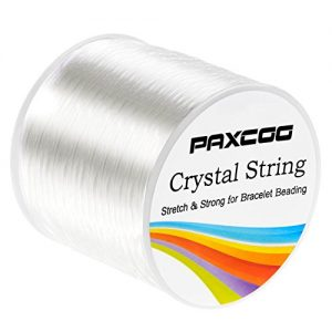 Shop Cord! Paxcoo 1.2mm Elastic Stretch String Cord for Jewelry Making Bracelet Beading Thread | Shop jewelry making and beading supplies, tools & findings for DIY jewelry making and crafts. #jewelrymaking #diyjewelry #jewelrycrafts #jewelrysupplies #beading #affiliate #ad