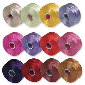 Shop Beading Thread! S-Lon Beading Thread Mixture 12 Colors Size D Flower Colors by Beadsmith | Shop jewelry making and beading supplies, tools & findings for DIY jewelry making and crafts. #jewelrymaking #diyjewelry #jewelrycrafts #jewelrysupplies #beading #affiliate #ad