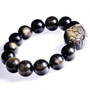 Shop Golden Obsidian Bracelets! AAAAA 10mm/14mm Gold Obsidian Beads Bracelet/Women Bracelet/Men Bracelet/Beaded Gemstone Stretch Bracelet | Natural genuine Golden Obsidian bracelets. Buy crystal jewelry, handmade handcrafted artisan jewelry for women.  Unique handmade gift ideas. #jewelry #beadedbracelets #beadedjewelry #gift #shopping #handmadejewelry #fashion #style #product #bracelets #affiliate #ad