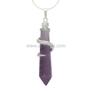 Shop Amethyst Necklaces! Hexagonal Pile Natural Amethyst Healing Point Reiki Chakra Cut 18-20 Inch Gemstone Pendant Necklace (1pc) in Gift Bag #GGP-D4 | Natural genuine Amethyst necklaces. Buy crystal jewelry, handmade handcrafted artisan jewelry for women.  Unique handmade gift ideas. #jewelry #beadednecklaces #beadedjewelry #gift #shopping #handmadejewelry #fashion #style #product #necklaces #affiliate #ad